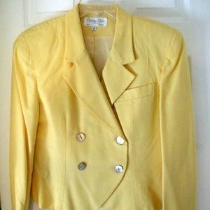 Women's Designer Vintage 90s Christian Dior Suit